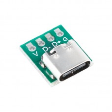 1Pcs USB 3.1 Type C Connector 16 Pin Test PCB Board Adapter 16P Connector Socket For Data Line Wire Cable Transfer
