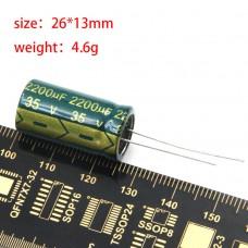 LANTIANRC 35V 2200uF Кондензатор